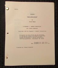 1989 WISEGUY Television Show Script Episode #313 Meet Mike McPike Rev 11/29/89
