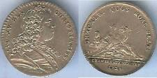 Jeton royal - Louis XV 1728 chambre aux deniers argent / silver 6 gr d=29mm