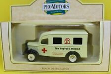 Lledo Days Gone 1950 Bedford Ambulance in The Leprosy Mission Livery