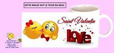 mug tasse céramique saint valentin avec prénom au choix réf 320