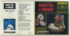 Roches et Mineraux ROCKS and MINERALS Mineralogy ViewMaster Packet B-677-French