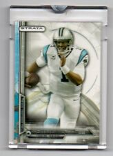 2014 CAM NEWTON TOPPS STRATA UNCIRCULATED ENCASED TOPPS VAULT BLANK BACK 1/1