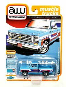 "Auto World Muscle Trucks 1976 Chevy Bonanza C10 Fleetside ""Spirit of '76"" Premiu"