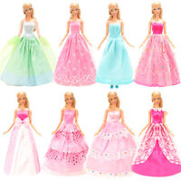 Barwa Random Random 10 sets of big skirts + 5 shoes + 6 crowns + 6 necklaces