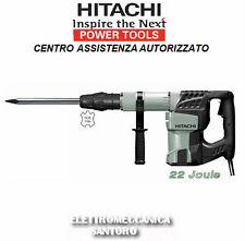MARTEAU DÉMOLISSEUR H60MC JOULES 22 WATT 1250 ATTAQUE AVEC SDS MAX HITACHI