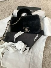 Chanel Lapin Fourrure Cross Body Bag
