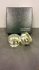 Portatovaglioli bombati in argento massiccio CALEGARO AD10101