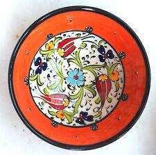 Turco De Cerámica Iznik Azulejo Bowl Porcelana Kutahya Arte 12 Cm En Relieve handmade-21
