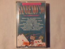 MC Sanremo '90 cassette k7 MIA MARTINI ANNA OXA PAOLA TURCI COME NUOVA LIKE NEW!