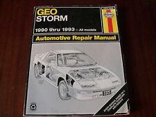 Reparaturanleitung Geo Storm ,ab 1990 - 1993