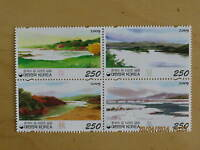 South Korea 2009 River Series 3 stamps