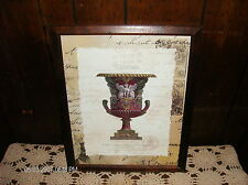 Vase Wood Frame Picture ~ Al Signor Tomasso Palmer Cavaliere Inglese Print