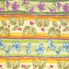 Longaberger Napkin Basket Liner Botanical Fields Stripe - New