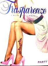 Strumpfhose Trasparenze mit Tattoo Schmetterling Party Gr.2/34-38 Natur