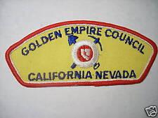 GOLDEN EMPIRE COUNCIL, CALIFORNIA-NEVADA, T-2 CSP
