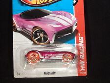 HW HOT WHEELS 2013 HW RACING #133/250 PHASTASM HOTWHEELS PINK RACE TRACK READY