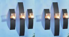 6er Set Wandkerzenhalter Kerzenhalter Teelichthalter Windlicht Teelicht Deko