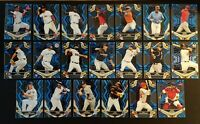 2019 Topps HIGH TEK BLUE PARALLEL YOU PICK COMPLETE YOUR SET $0.99 MAX SHIP