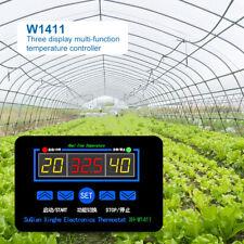 W1411 Digital Thermostat Temperature Humidity Controller Egg Incubator - 55~120℃
