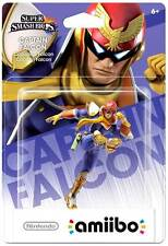 Nintendo Amiibo CAPTAIN FALCON Figure  F-ZERO US VERSION UNICORN FIRST PRINT