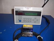 10041 KEYENCE DV-90NE / BL-1301HA LASER SCANNER W/ TRIPPLE 3Hi DIGITAL