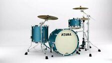 """Tama Starclassic MA32CZS-FLM Maple Drumset 22""""/12""""/16"""" Flat Steel Blue Metallic"""