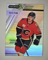 2020-21 UD Synergy FX #FX-9 Matthew Tkachuk /749 - Calgary Flames