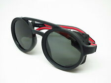New Authentic Carrera 5046/S 807QT Black Red w/Green Sunglasses