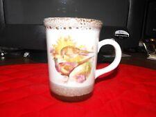 G A Jones Potbank Temuka NZ Pottery Pheasant Cup