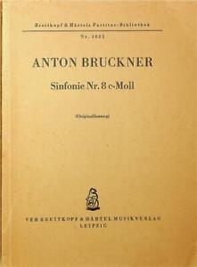 Anton Bruckner, Sinfonie Nr. 8 C-Moll Mini Score