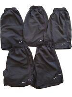 Nike Dri-Fit Athletic Shorts Black Men's Size Small - FIVE Pairs