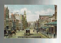 1909 Bourke Street Melbourne Australia to Detroit MI Real Picture Postcard Cover