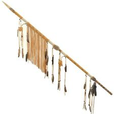 Decorative Native American Style Ceremonial Spear Traditional Wrap
