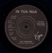 "In Tua Nua(7"" Vinyl)All I Wanted/ The Word Punishment-Virgin-VS1072-UK-VG/NM"