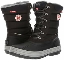 HELLY HANSEN BOOTS Tundra CWB Rubber Lace Waterproof Snow Winter Booties Black 6