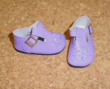 Doll Shoes LIGHT PURPLE 44mm T-Straps for Ellowyne, Patience & NuMood