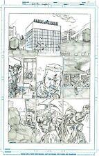 Netho Diaz SPIDER-MAN Sample Page 1 Original Art