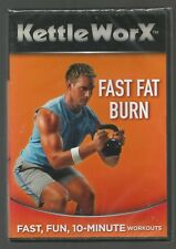 KettleWorX - FAST FAT BURN - sealed/new - UK DVD - 10-minute workouts - fitness