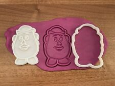 Toy Story Mr Potato Cookie and Fondant Cutter and Stamp