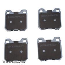Disc Brake Pad Set Rear Beck/Arnley 085-1560