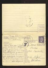 Germany, WWII: Mi. P310 (so called Ostarbeiter card), Elbing to Rzeszev, 1943
