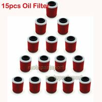 15x Oil Filter For COMMANDER MAX 800R MAVERICK 1000R CAN-AM RENEGADE 850 1000