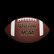 Wilson Reaction NCAA Football, Official Size Pigskin Laces Composite Leather