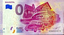 BILLET 0  EURO  BAUNATAL  COCCINELLE VW  2020 NUMERO DIVERS