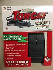 Tomcat mouse trap 2 per package For indoor /Outdoor Made in Usa