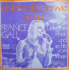 "7"" 1969 rare vg +++! France Gall: je t'aime comme tu es"