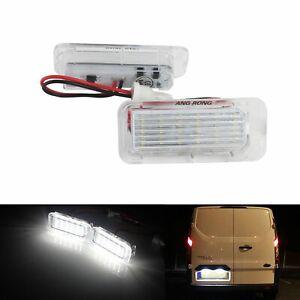 LED License Number Plate Light Lamp For Ford Focus MKII MKIII Ranger Mondeo Kuga