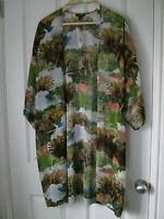 Topshop fantasy kimono *BNWT*floaty*jungle*scenery*beautiful*trend*RARE*jacket