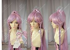 Fire Emblem Olivia +Ponytail Anime Cosplay Costume Wig +Free CAP + Track