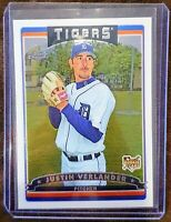 2006 Topps Chrome Justin Verlander Rookie Card - #309 - Detroit Tigers